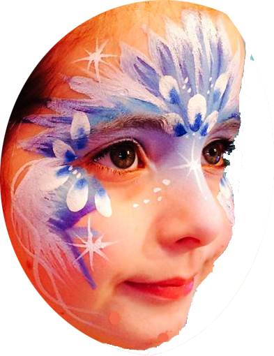 Face painting throughout Cornwall, wadebridge, padstow, devon, Truro, Newquay, Penzance, Hire, party, Entetainment, entertainer, Helston, South West. Face painting, body painting.